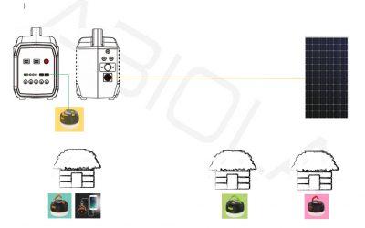 9. Gemeinschaftsnutzung von Abiola Turbo Charger und USB-Lampen