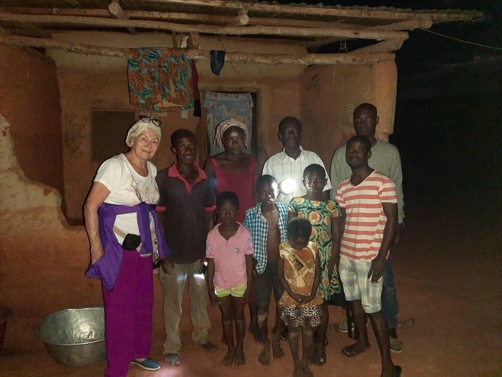 Ghana - Brigitte Übergabe